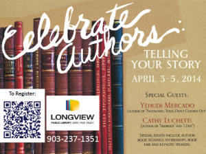 Longview, Texas, authors event