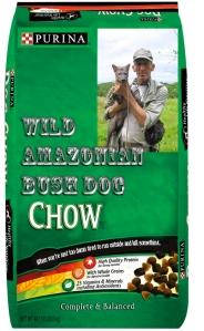 wild amazonian bush dog chow